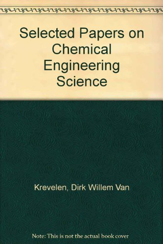 9780444415295: Selected Papers on Chemical Engineering Science (English, French and German Edition)