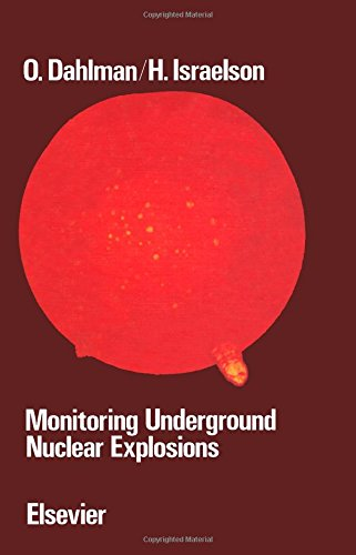 9780444416049: Monitoring Underground Nuclear Explosions