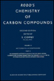 9780444416476: Rodds Chemistry of Carbon Com Vol4k Edition (Rodd's Chemistry of Carbon Compounds. 2nd Edition) (v. 4K)