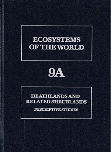 9780444417015: Descriptive Studies, Volume Vol. A (Ecosystems of the World)