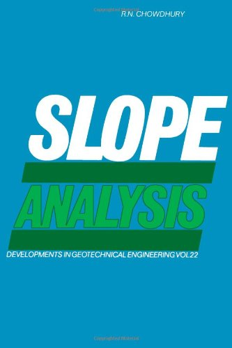 9780444417244: Slope Analysis (Developments in Geotechnical Engineering)
