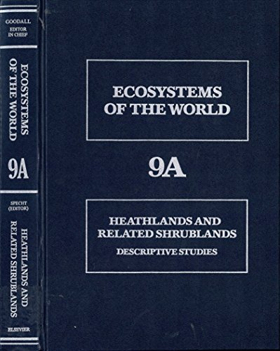 9780444418098: Heathlands and Related Shrublands: Analytical Studies (Ecosystems of the World)