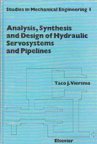 9780444418692: Analysis, Synthesis and Design of Hydraulic Servosystems and Pipelines (Studies in Mechanical Engineering)