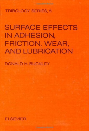 9780444419668: Surface effects in adhesion, friction, wear, and lubrication (Tribology series 5)