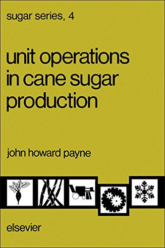 9780444421043: Unit Operations in Cane Sugar Production (SUGAR SERIES)