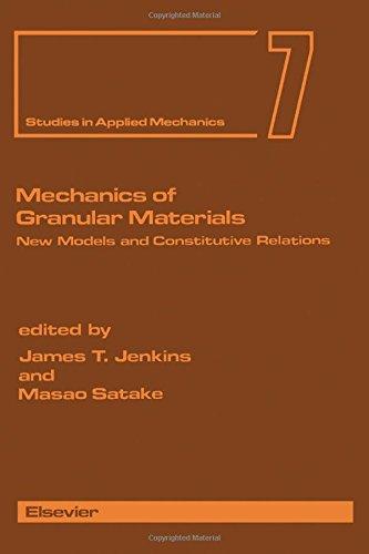 Mechanics of Granular Materials: New Models and: Jenkins, James T.,