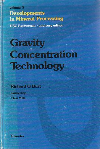 9780444424112: Gravity Concentration Technology (Developments in Mineral Processing)