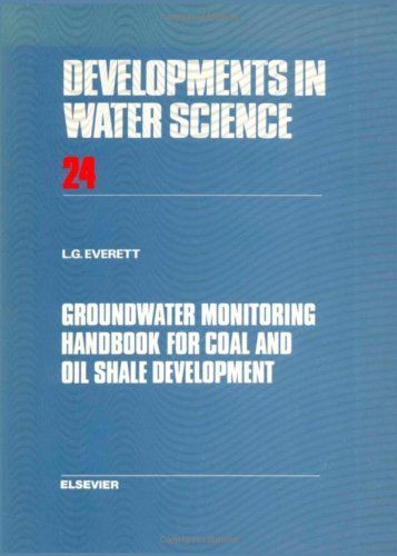 9780444425140: Groundwater Monitoring Handbook for Coal and Oil Shale Development (Developments in Water Science)