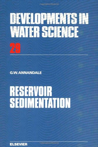 9780444427298: Reservoir Sedimentation (Data Handling in Science and Technology)