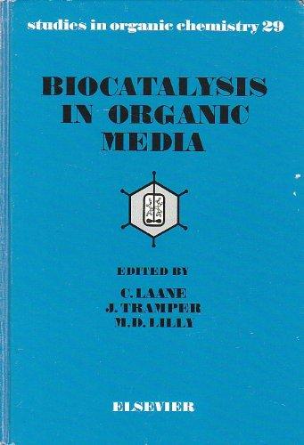 9780444427854: Biocatalysis in Organic Media (Studies in Organic Chemistry)