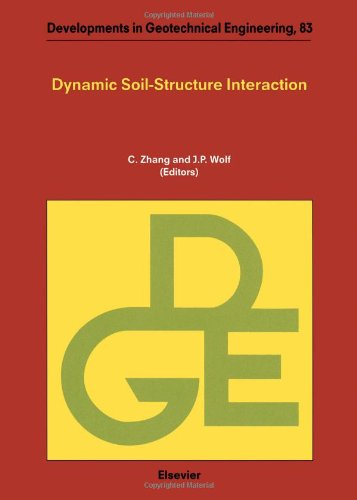 9780444500359: Dynamic Soil-structure Interaction (Developments in Geotechnical Engineering)