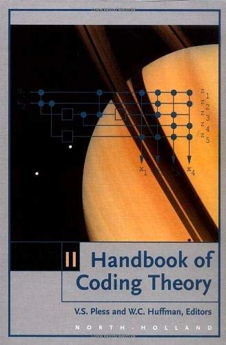 9780444500878: Handbook of Coding Theory, Volume II: Part 2: Connections, Part 3: Applications (Vol 2, Pt.2 & 3)