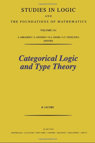 9780444501707: Categorical Logic and Type Theory (Studies in Logic and the Foundations of Mathematics)