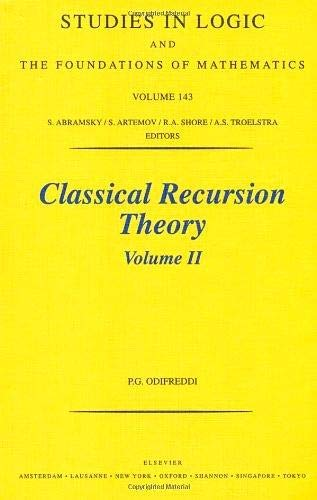 9780444502056: Classical Recursion Theory: 2