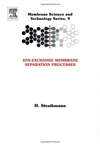 9780444502360: Ion-Exchange Membrane Separation Processes, Volume 9 (Membrane Science and Technology)