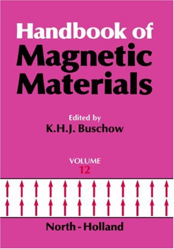 9780444502490: Handbook of Magnetic Materials, Volume 12