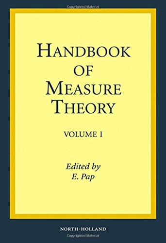 9780444502636: Handbook of Measure Theory: In two volumes