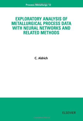 9780444503121 - Aldrich, C.: Exploratory Analysis of Metallurgical Process Data with Neural Networks and Related Methods (Process Metallurgy) - Livro