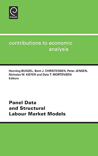 9780444503190: Panel Data and Structural Labour Market Models (Contributions to Economic Analysis)