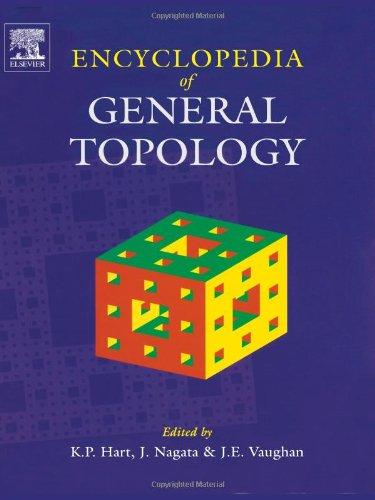 9780444503558: Encyclopedia of General Topology