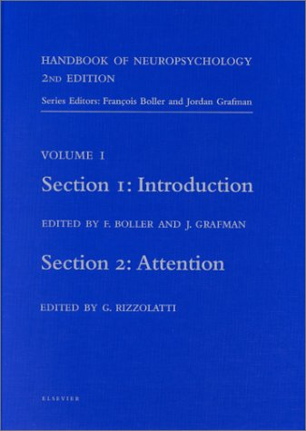 9780444503589: Handbook of Neuropsychology, 2nd Edition: Introduction (Section 1) and Attention (Section 2)