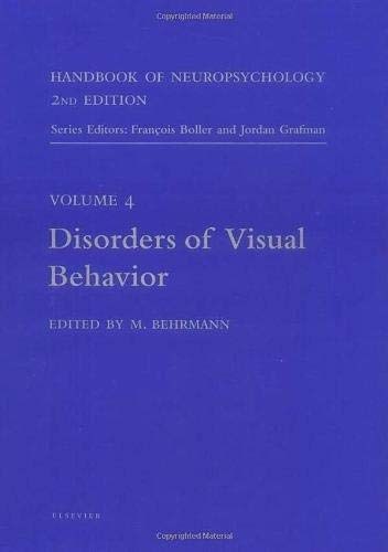 9780444503602: Disorders of Visual Behavior (Handbook of Neuropsychology)