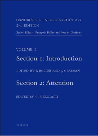 9780444503671: Handbook of Neuropsychology, 2nd Edition: Introduction (Section 1) and Attention (Section 2)