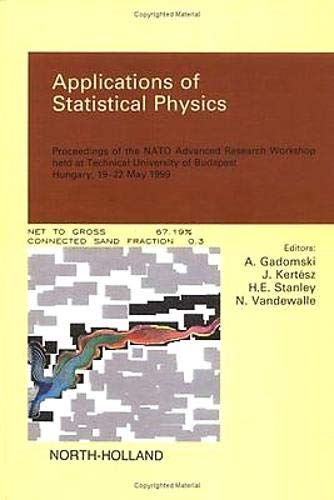 9780444504098: Applications of Statistical Physics