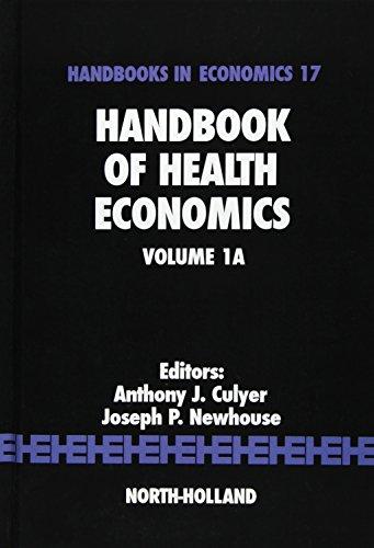 9780444504708: Handbook of Health Economics, Volume 1A