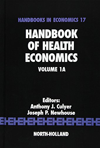 9780444504708: Handbook of Health Economics, Volume 1A