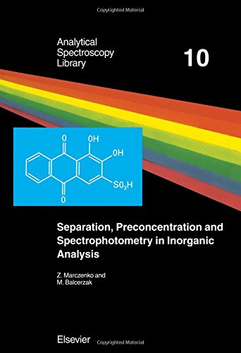 9780444505248: Separation, Preconcentration and Spectrophotometry in Inorganic Analysis (Analytical Spectroscopy Library)