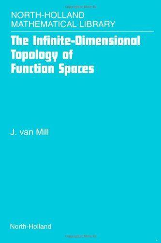 9780444505576: The Infinite-Dimensional Topology of Function Spaces, Volume 64 (North-Holland Mathematical Library)