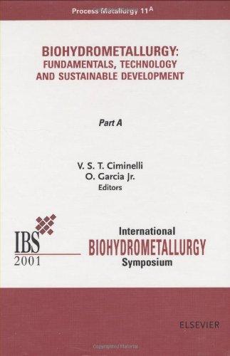 9780444506238: Biohydrometallurgy: Fundamentals, Technology and Sustainable Development, Part A (Process Metallurgy)