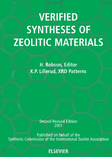 9780444507037: Verified Synthesis of Zeolitic Materials: Second Edition