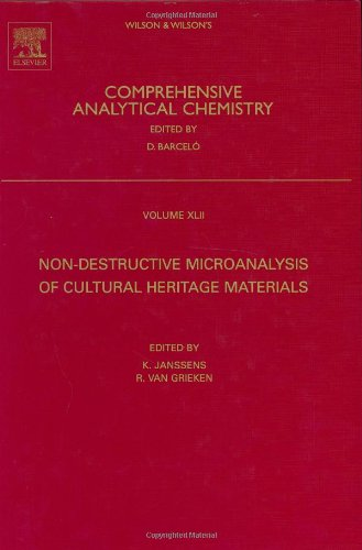 9780444507389: Comprehensive Analytical Chemistry: Non-Destructive Microanalysis Of Cultural Heritage Materials: 42