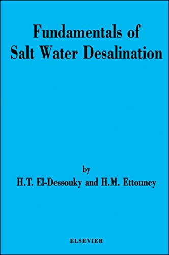 9780444508102: Fundamentals of Salt Water Desalination