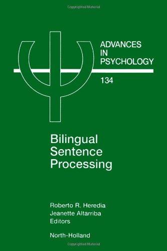 Bilingual Sentence Processing: Heredia, Roberto R.