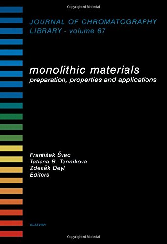 Monolithic Materials, Volume 67: Preparation, Properties and Applications (Journal of ...