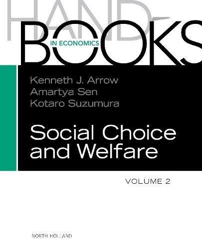 9780444508942: Handbook of Social Choice and Welfare, Volume 2 (Handbooks in Economics)