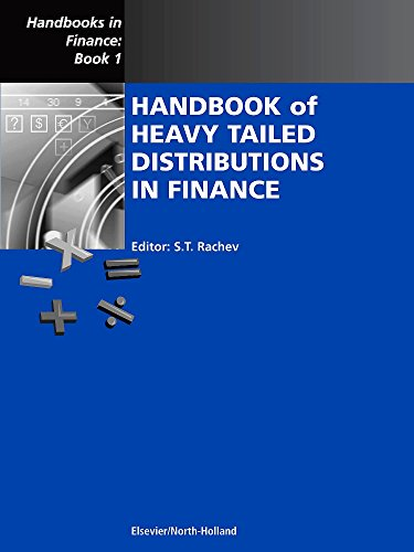 9780444508966: Handbook of Heavy Tailed Distributions in Finance, Volume 1: Handbooks in Finance, Book 1