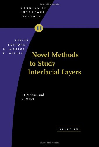 9780444509482: Novel Methods to Study Interfacial Layers (Volume 11) (Studies in Interface Science (Volume 11))