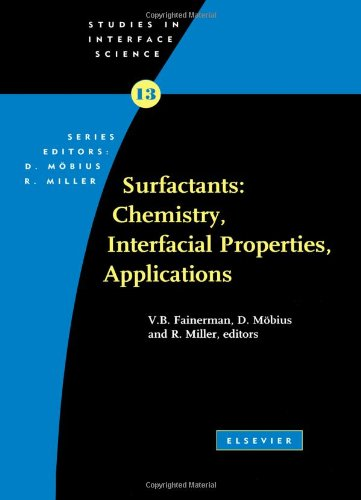9780444509628: Surfactants: Chemistry, Interfacial Properties, Applications, Volume 13 (Studies in Interface Science)