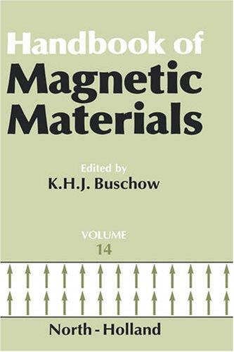 Handbook of Magnetic Materials, Volume 14: K.H.J. Buschow