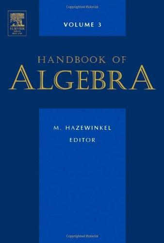 9780444512642: Handbook of Algebra, Volume 3