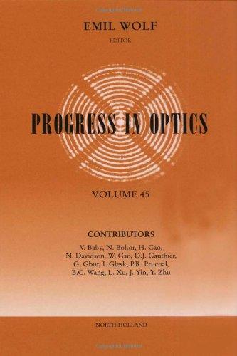 Progress in Optics (Hardback)
