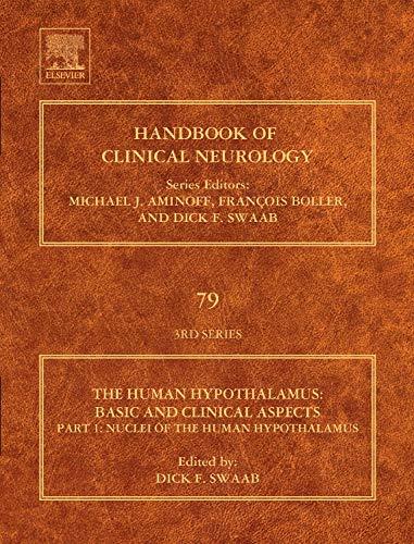 9780444513571: Human Hypothalamus: Basic and Clinical Aspects, Part I: Volume 79 (Handbook of Clinical Neurology)