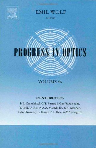 Progress in Optics (Volume 46): Wolf, E