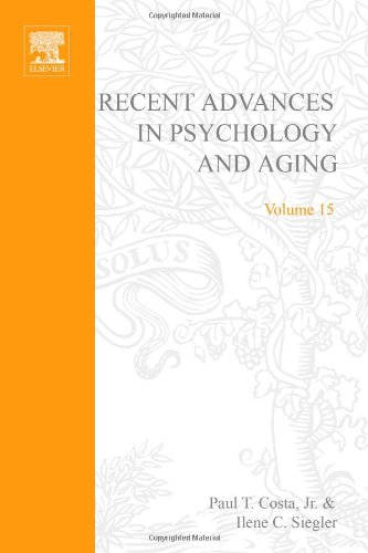 9780444514950: Recent Advances in Psychology and Aging: Volume 15 (Advances in Cell Aging and Gerontology)