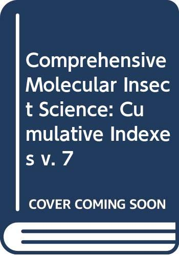 9780444516466: Comprehensive Molecular Insect Science (v. 7)