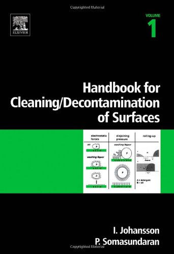 9780444516640: Handbook for cleaning/decontamination of surfaces